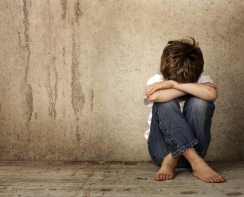 delito de abandono temporal de un menor